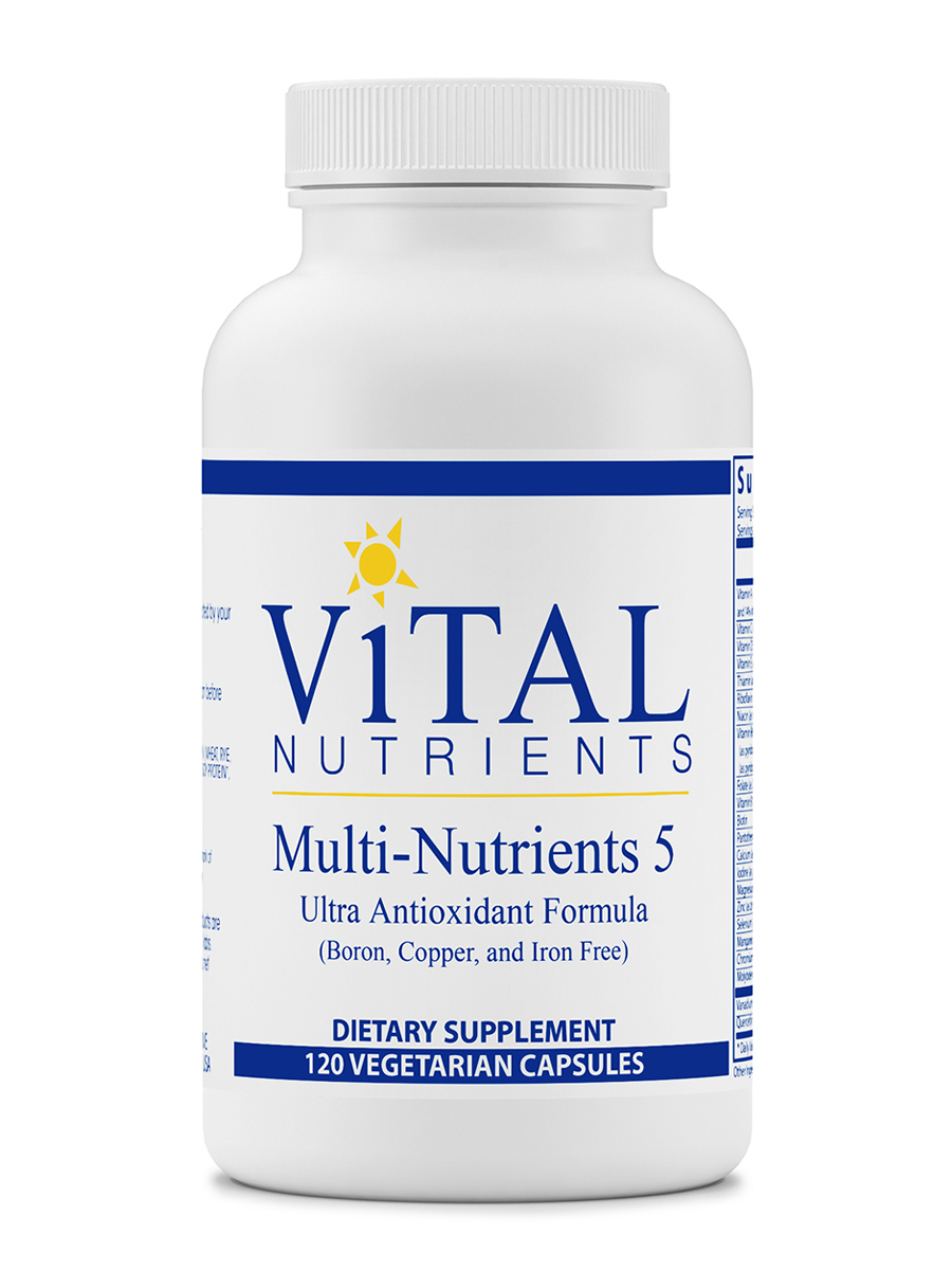 Multi-Nutrients V - 120 Capsules