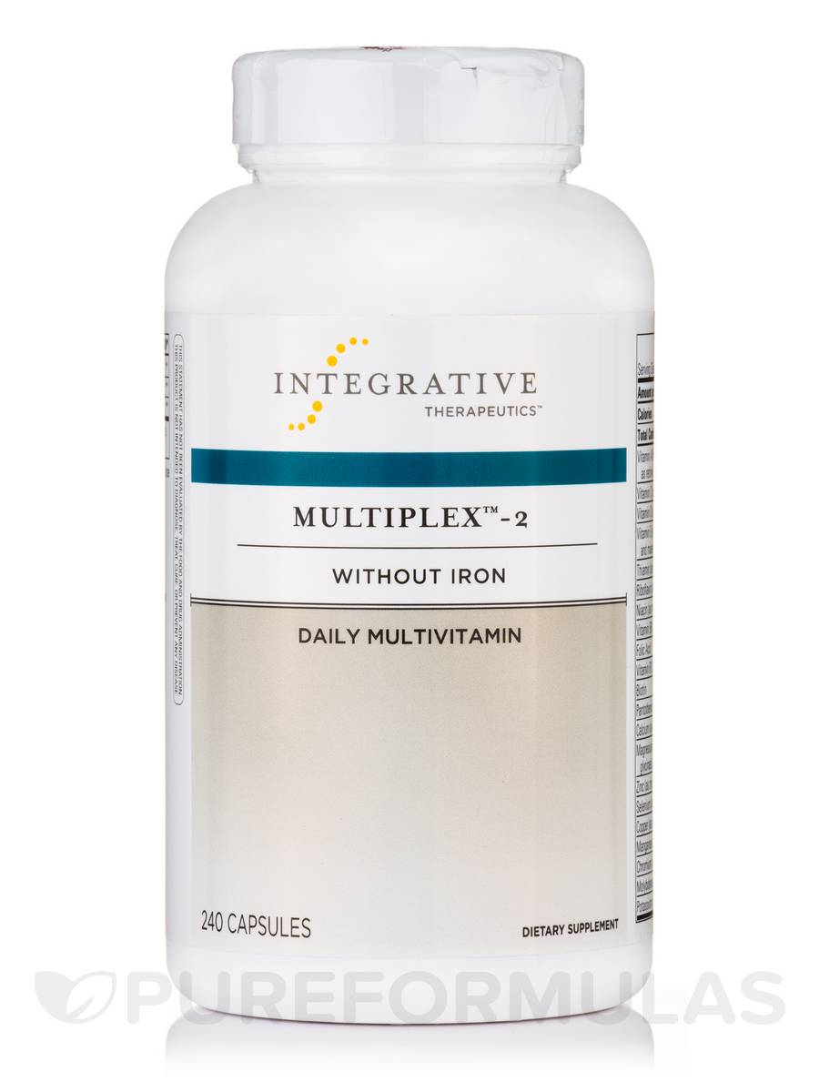 Multiplex™ 2 without Iron - 240 Capsules