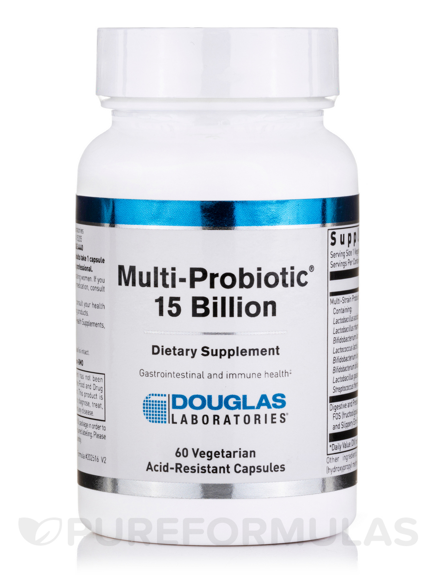 Multi-Probiotic 15 Billion - 60 Capsules