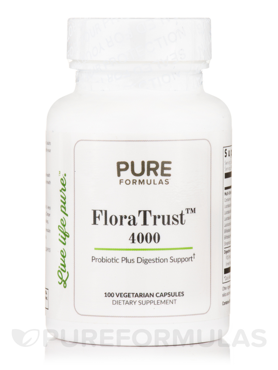 FloraTrust™ 4000 - 100 Vegetarian Capsules