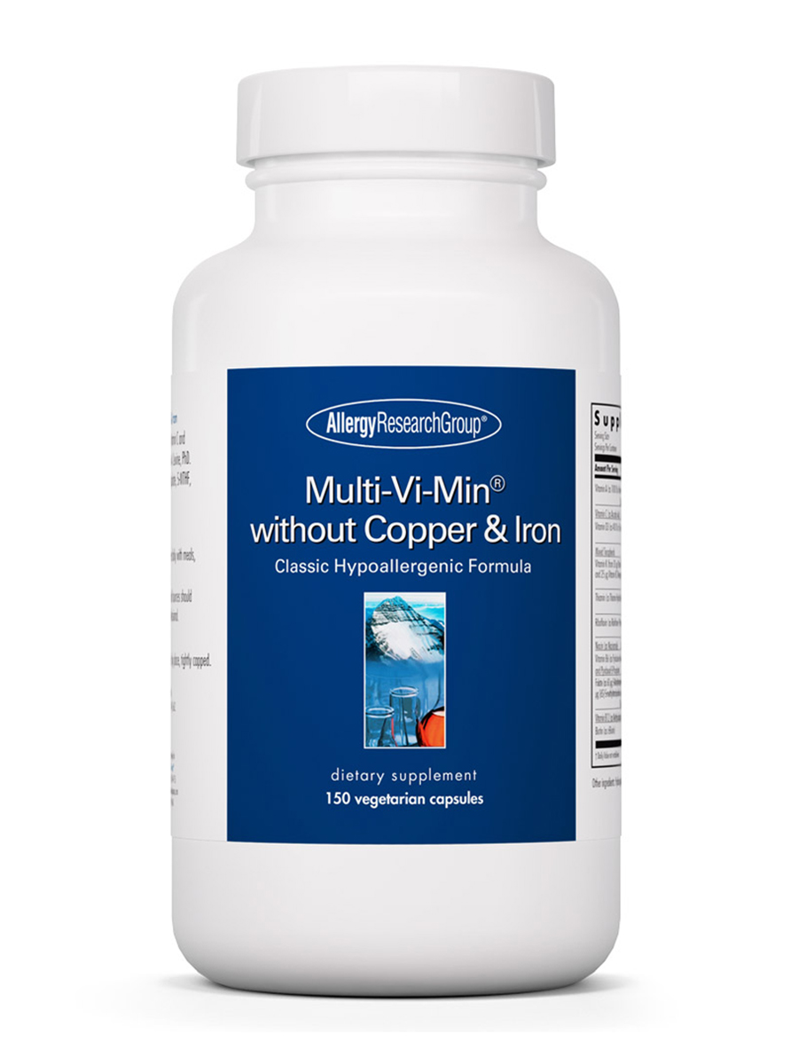 Multi-Vi-Min® without Copper & Iron - 150 Vegetarian Capsules
