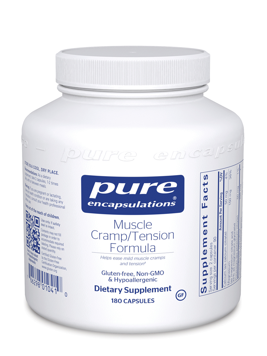 Muscle Cramp/Tension - 180 Capsules