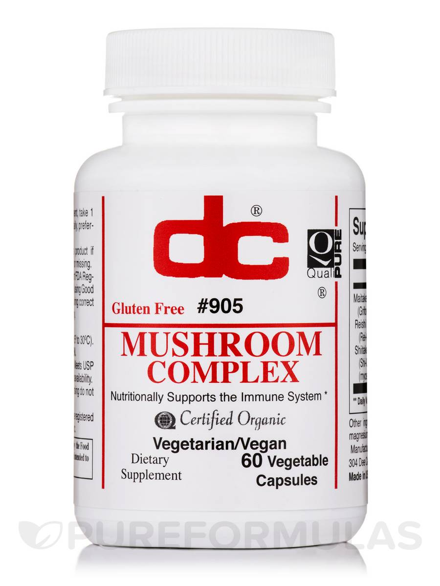 Mushroom Complex - 60 Vegetable Capsules