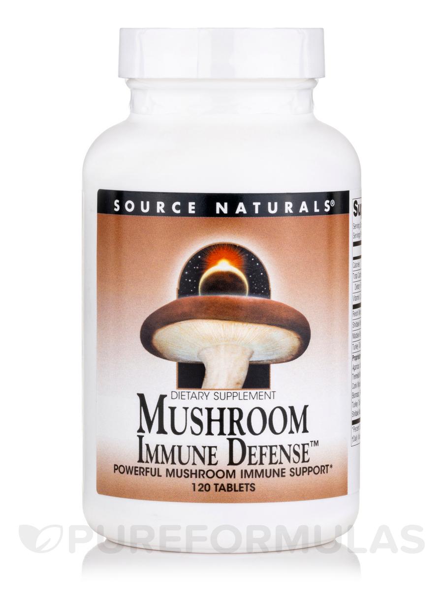 Mushroom Immune Defense - 120 Tablets