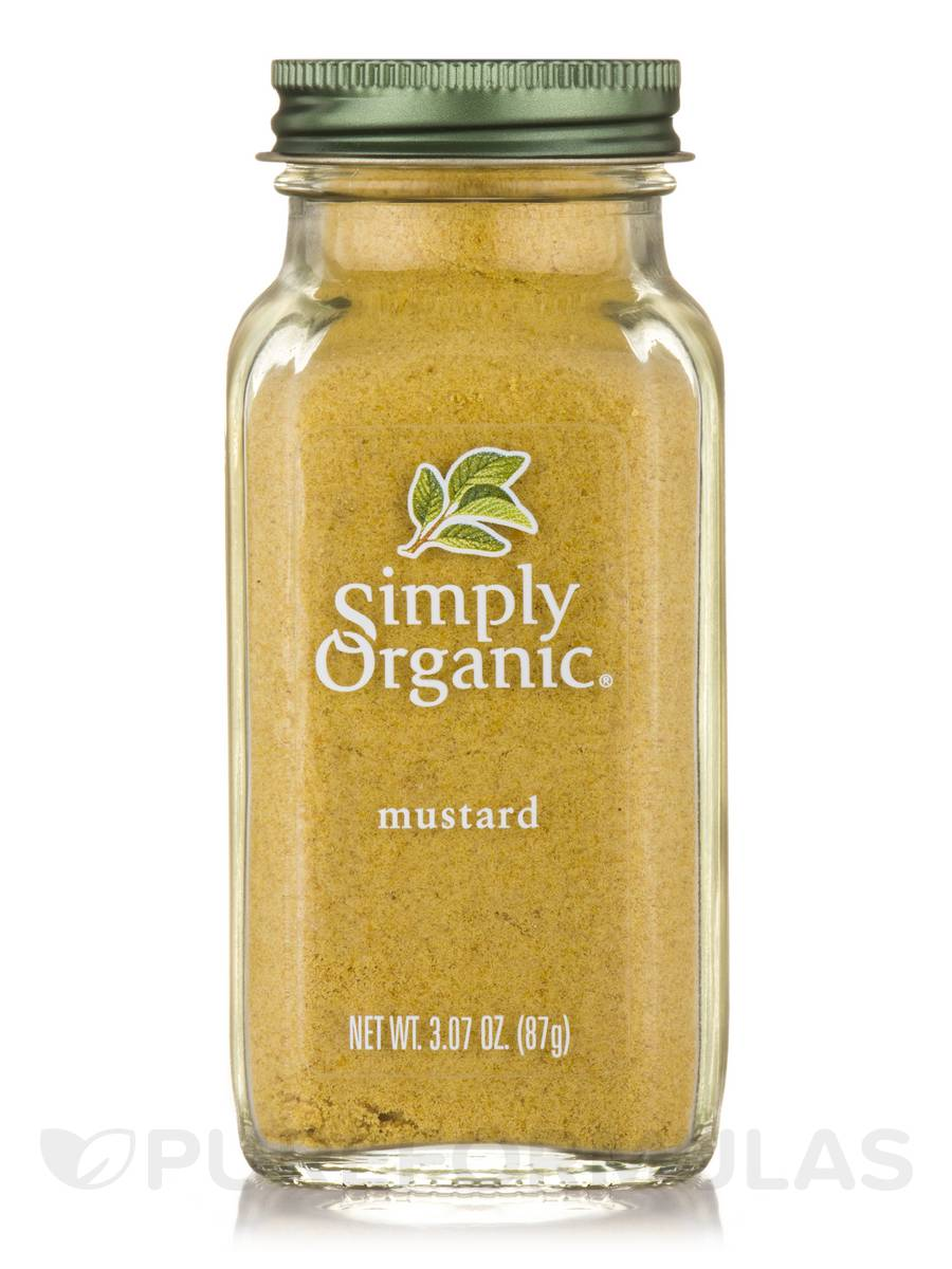 Ground Mustard Seed - 3.07 oz (87 Grams)