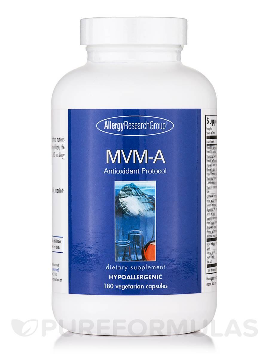 MVM-A Antioxidant Protocol - 180 Vegetarian Capsules