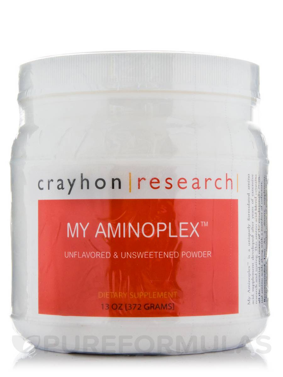 My Aminoplex Unflavored & Unsweetened - 13 oz (372 Grams)