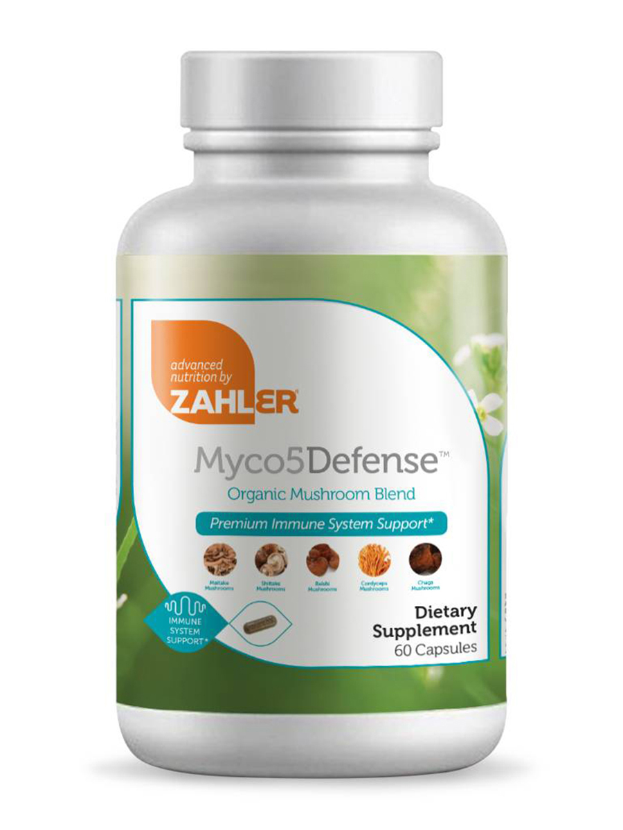 Myco5Defense™ - Premium Immune System Support - 60 Capsules