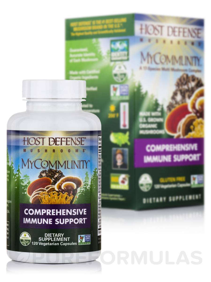 MyCommunity™ - 120 Vegetarian Capsules