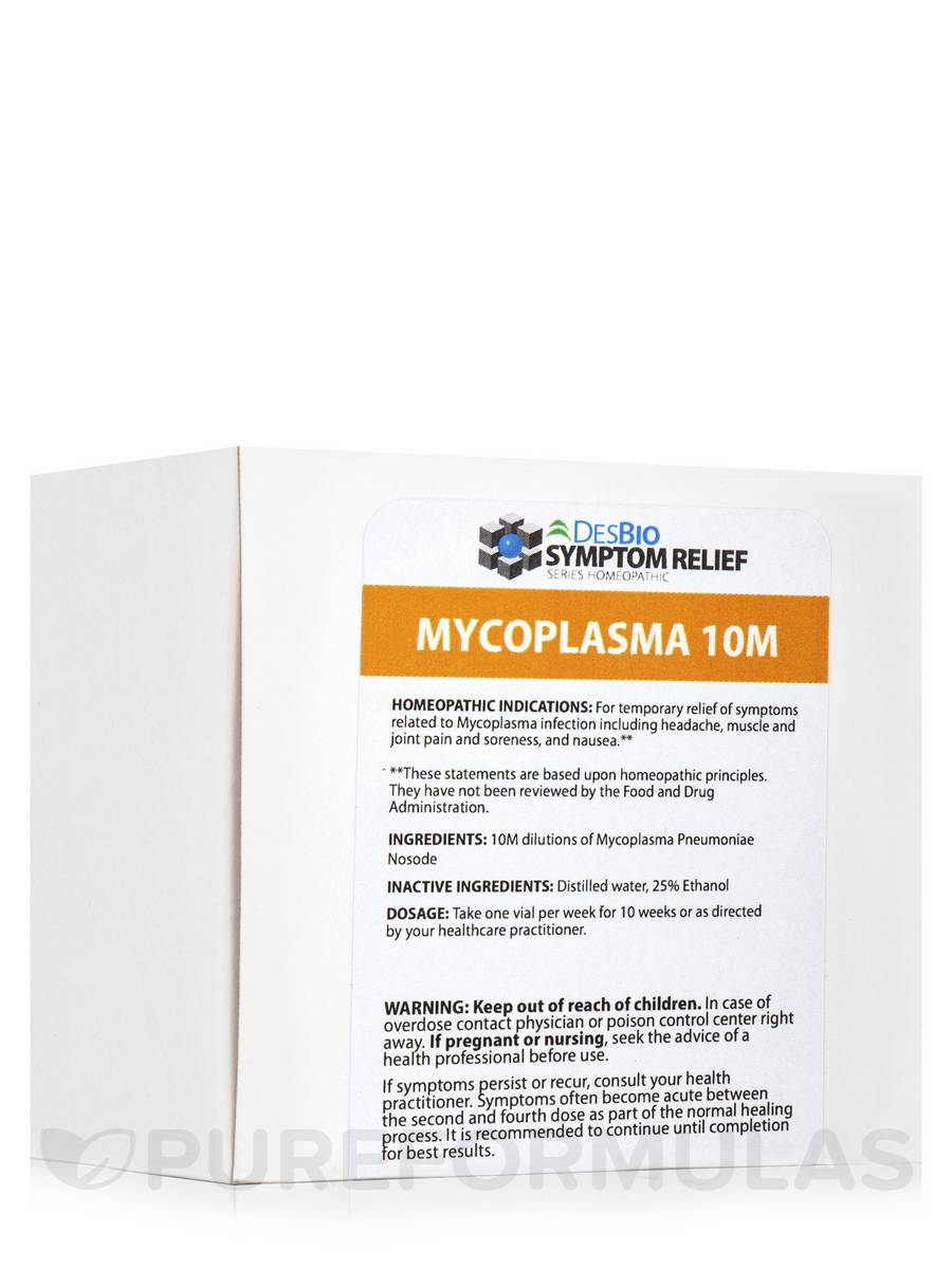 Mycoplasma 10M Series Therapy - 10 Vials