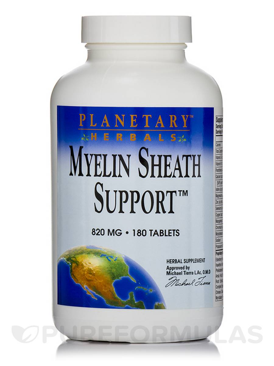 Myelin Sheath Support 820 mg - 180 Tablets