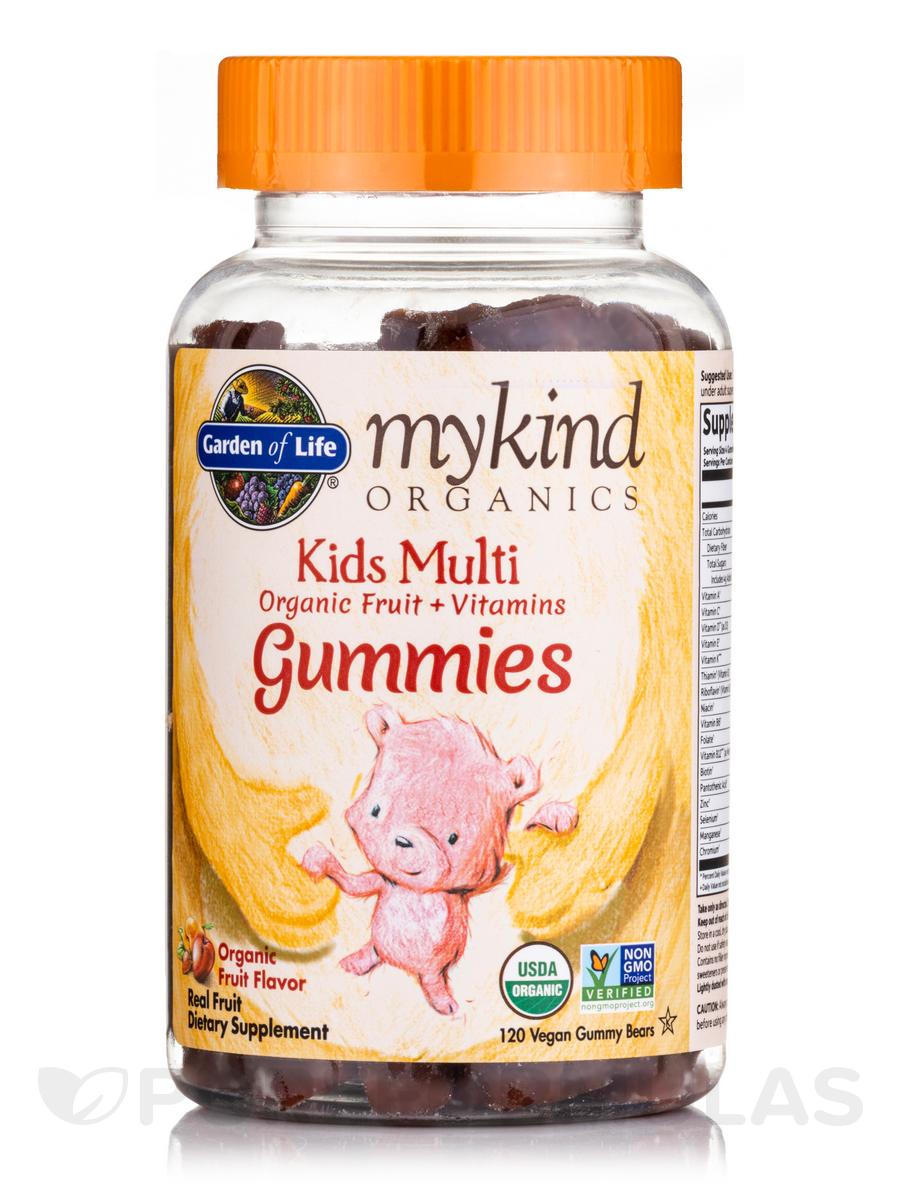 mykind Organics Kids Multi Gummies, Fruit Flavor - 120 Vegan Gummies