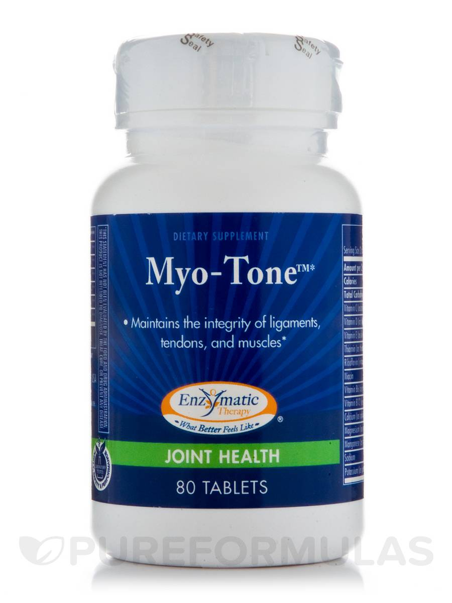 Myo Tone - 80 Tablets