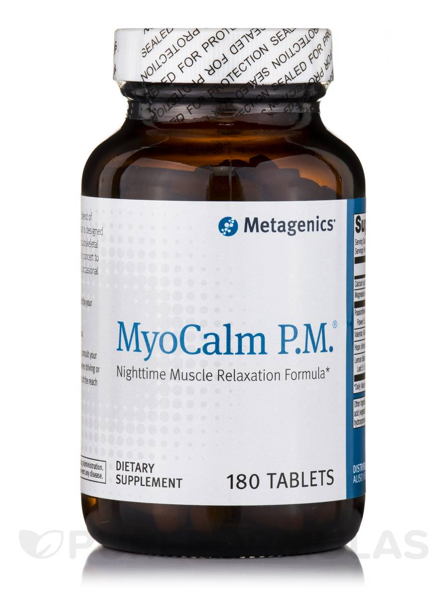 MyoCalm P.M. - 180 Tablets