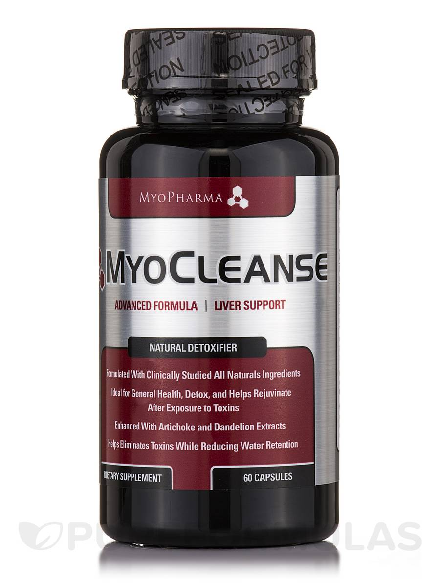 MyoCleanse Liver Cleanse - 60 Capsules