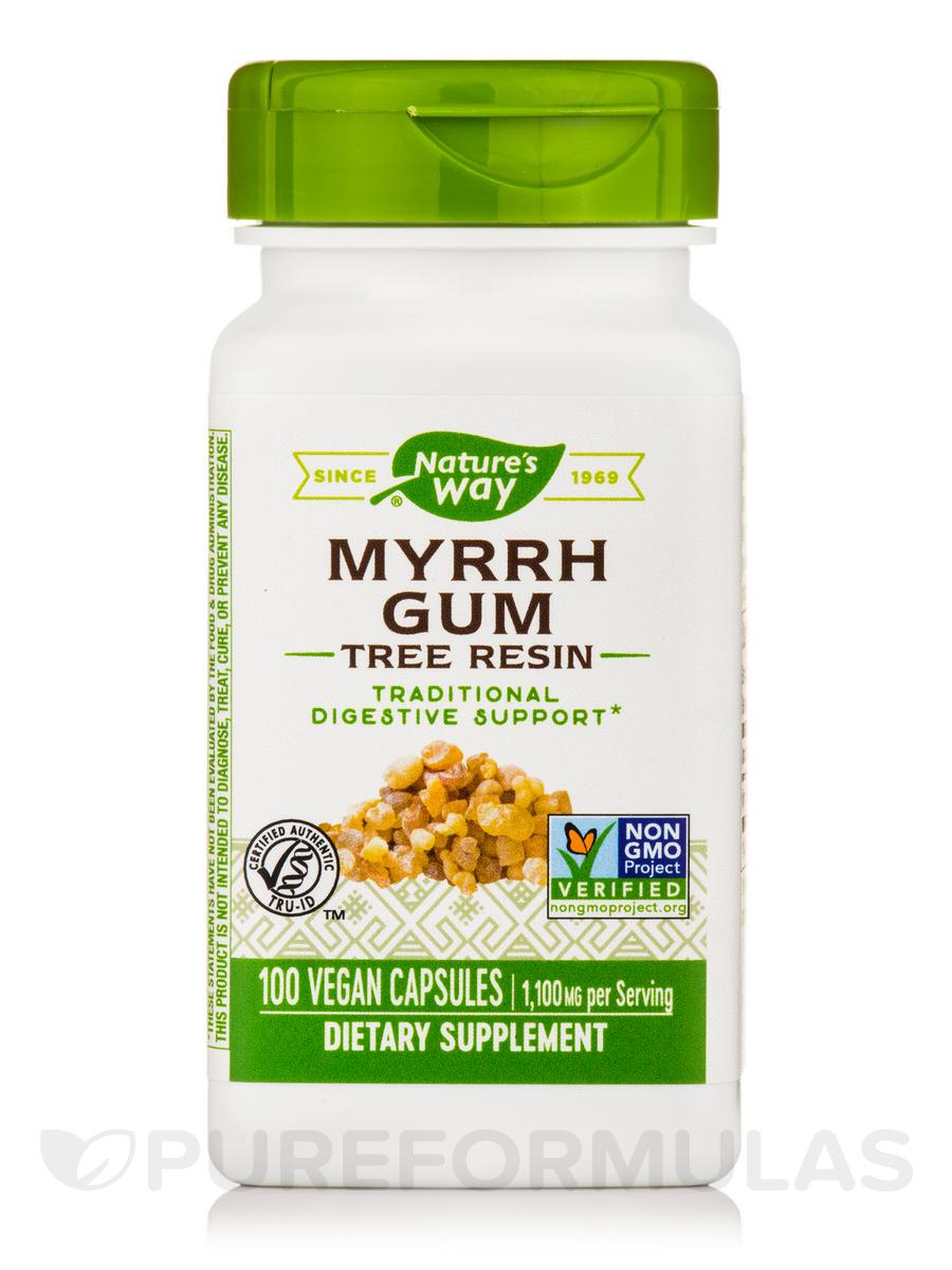 Myrrh Gum 550 mg - 100 Capsules