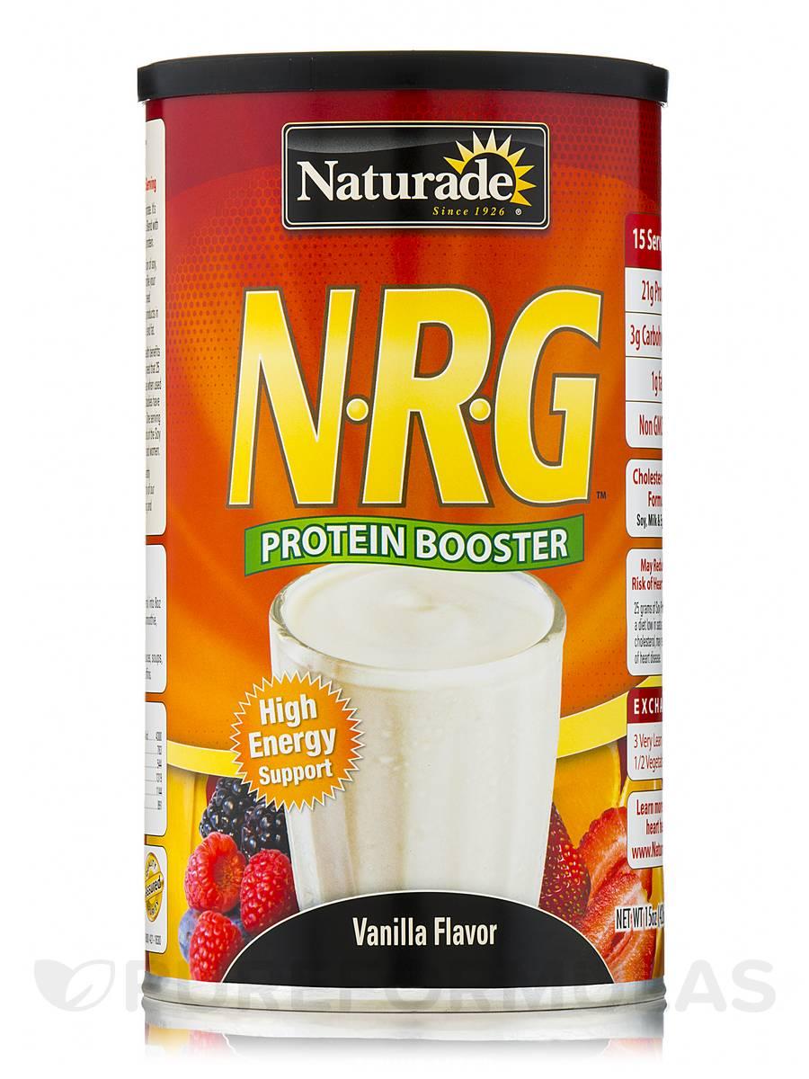 N-R-G Protein Booster Vanilla Flavor - 15 oz (426 Grams)
