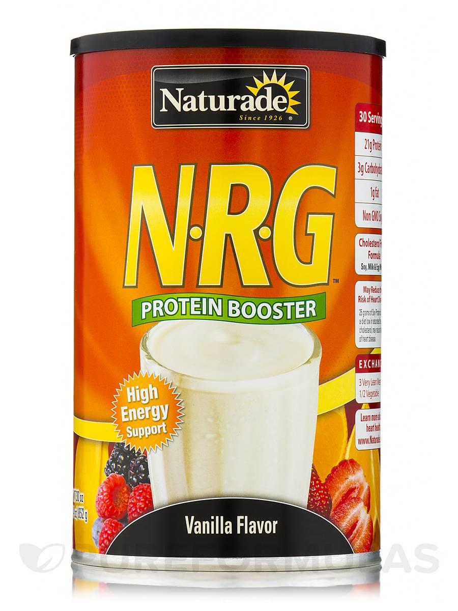 N-R-G Protein Booster Vanilla Flavor - 30 oz (852 Grams)