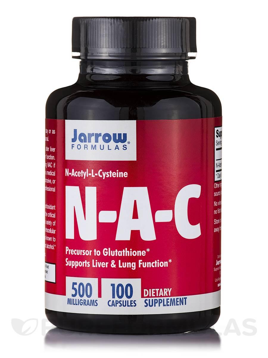 N-A-C 500 mg - 100 Capsules