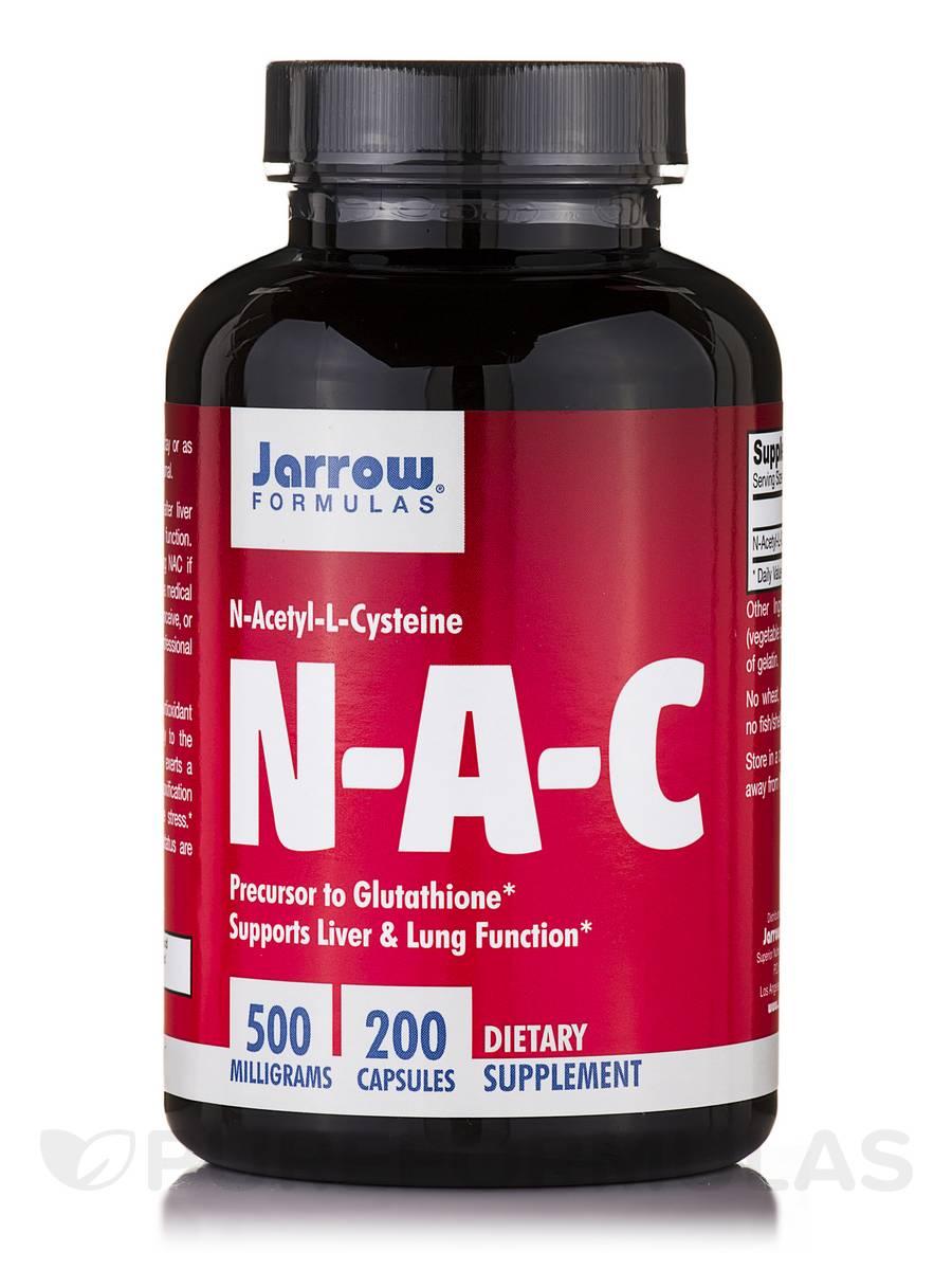 N-A-C 500 mg - 200 Capsules