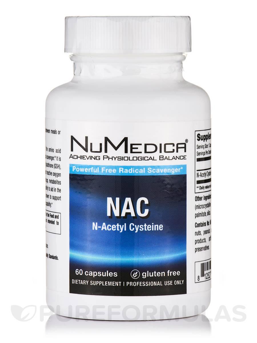 NAC (N-Acetyl Cysteine) - 60 Capsules