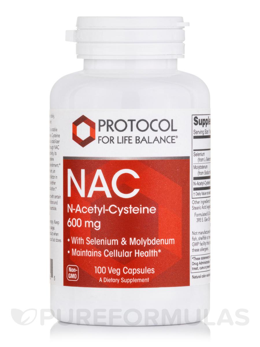NAC 600 mg - 100 Veg Capsules