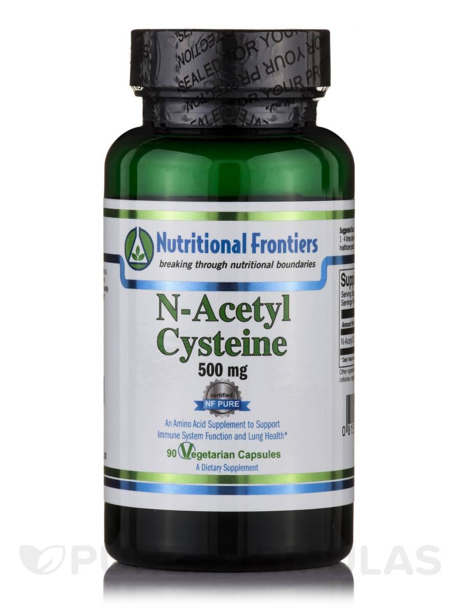 N-Acetyl Cysteine - 90 Vegetarian Capsules