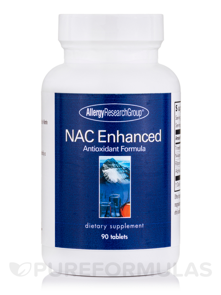 NAC Enhanced Antioxidant Formula - 90 tablets