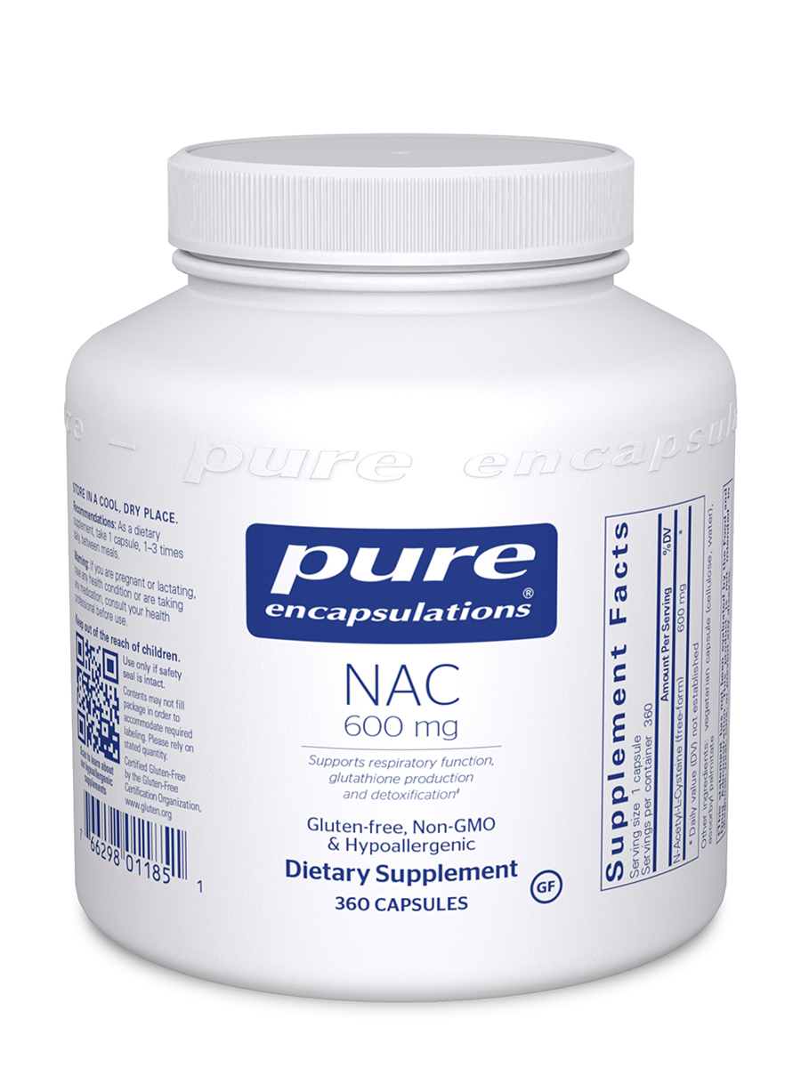NAC (N-Acetyl-l-Cysteine) 600 mg - 360 Capsules