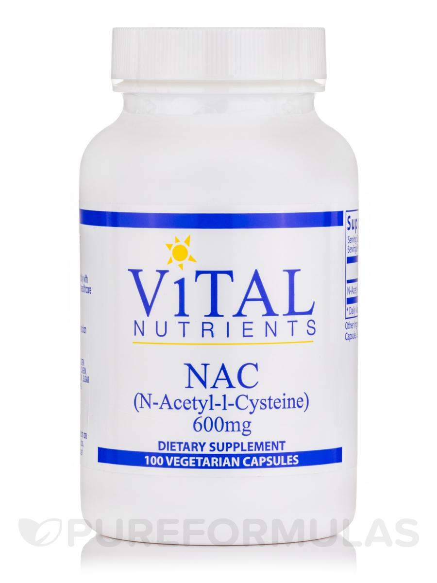 NAC (N-Acetyl Cysteine) 600 mg - 100 Capsules