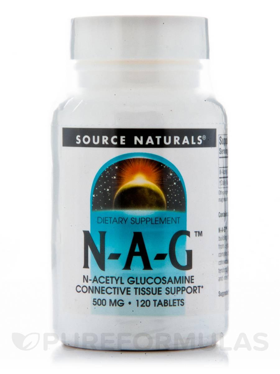 N-Acetyl Glucosamine 500 mg - 120 Tablets
