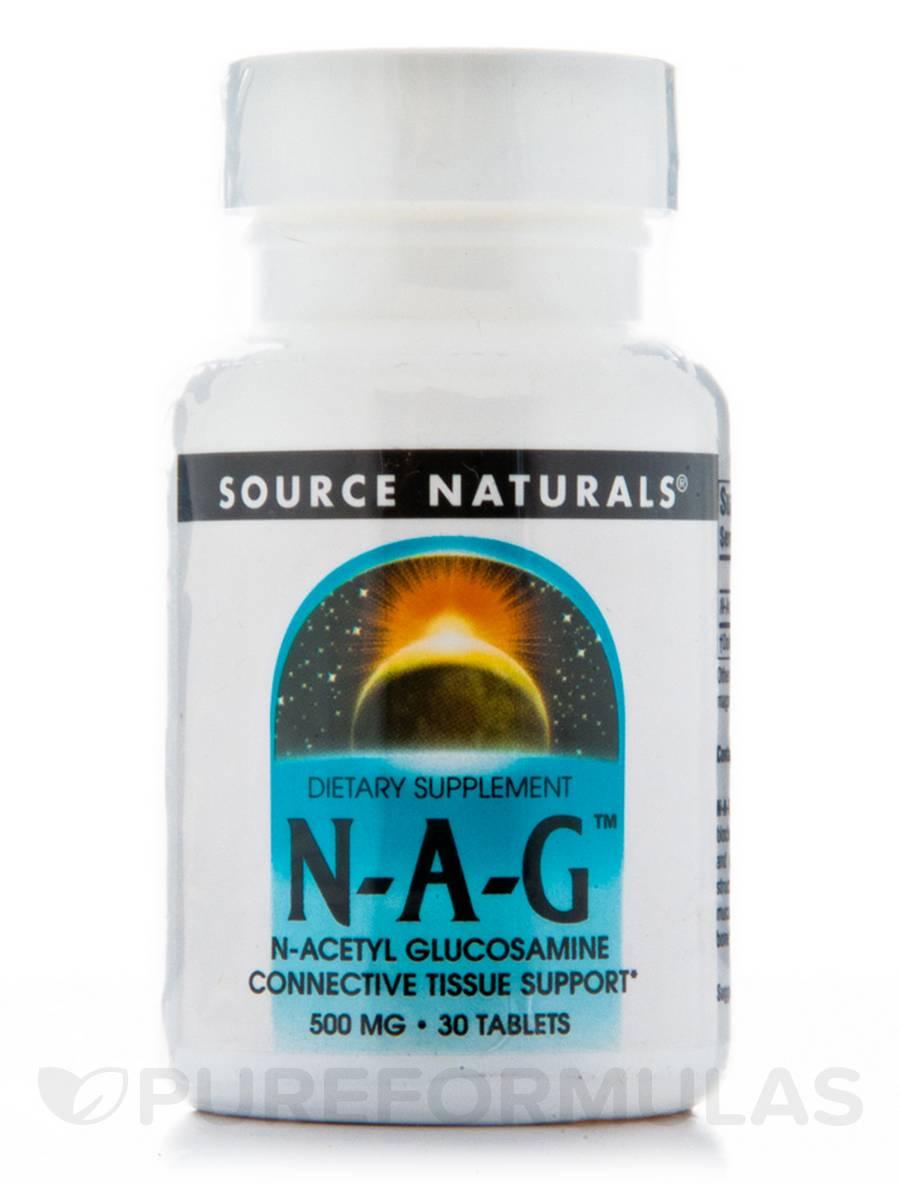 N-Acetyl Glucosamine 500 mg - 30 Tablets