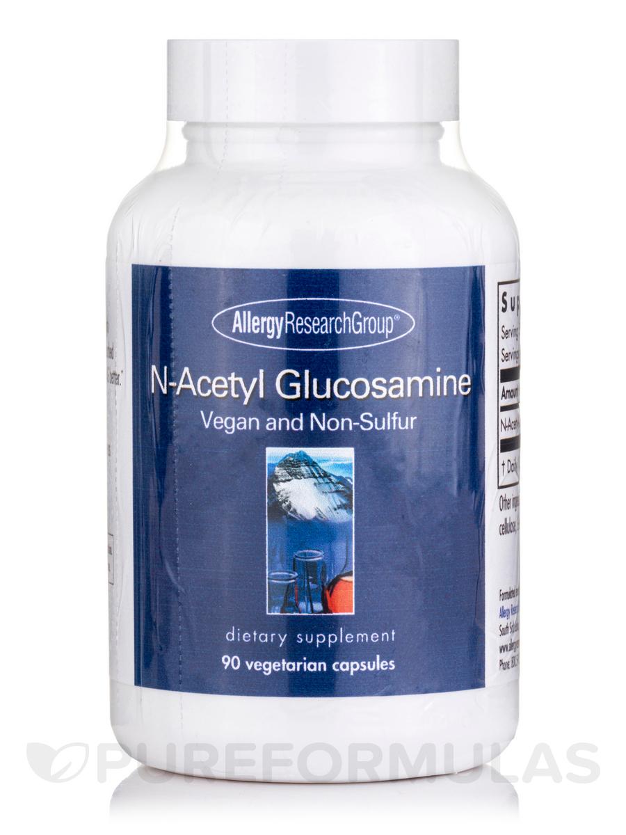 N-Acetyl Glucosamine (NAG) - 90 Vegetarian Capsules