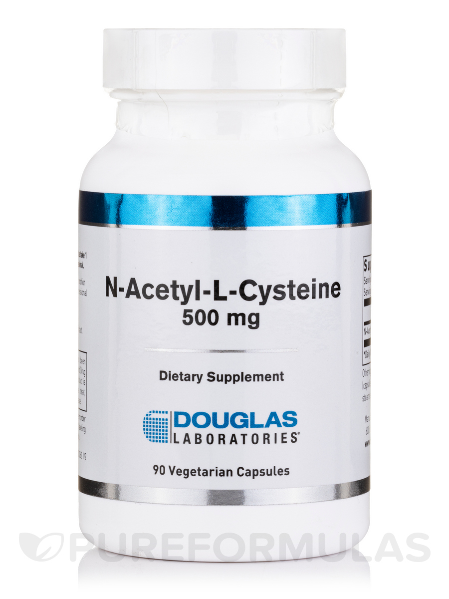 N-Acetyl-L-Cysteine 500 mg - 90 Vegetable Capsules