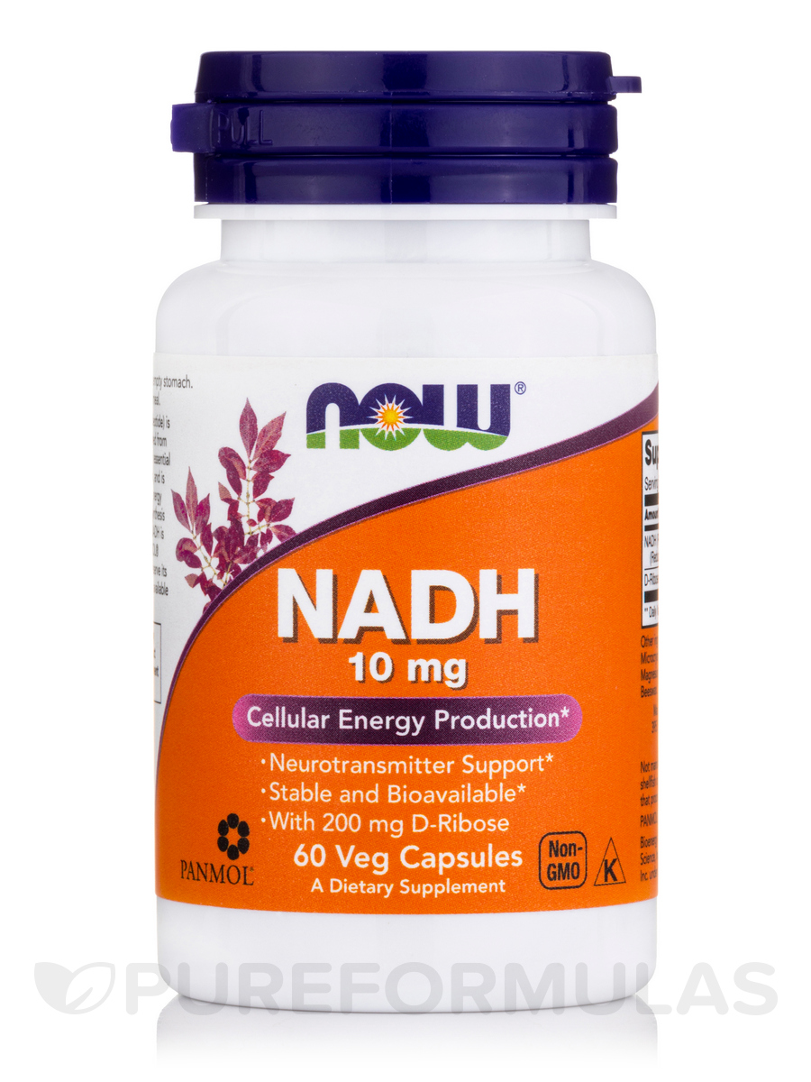 NADH 10 mg - 60 Veg Capsules
