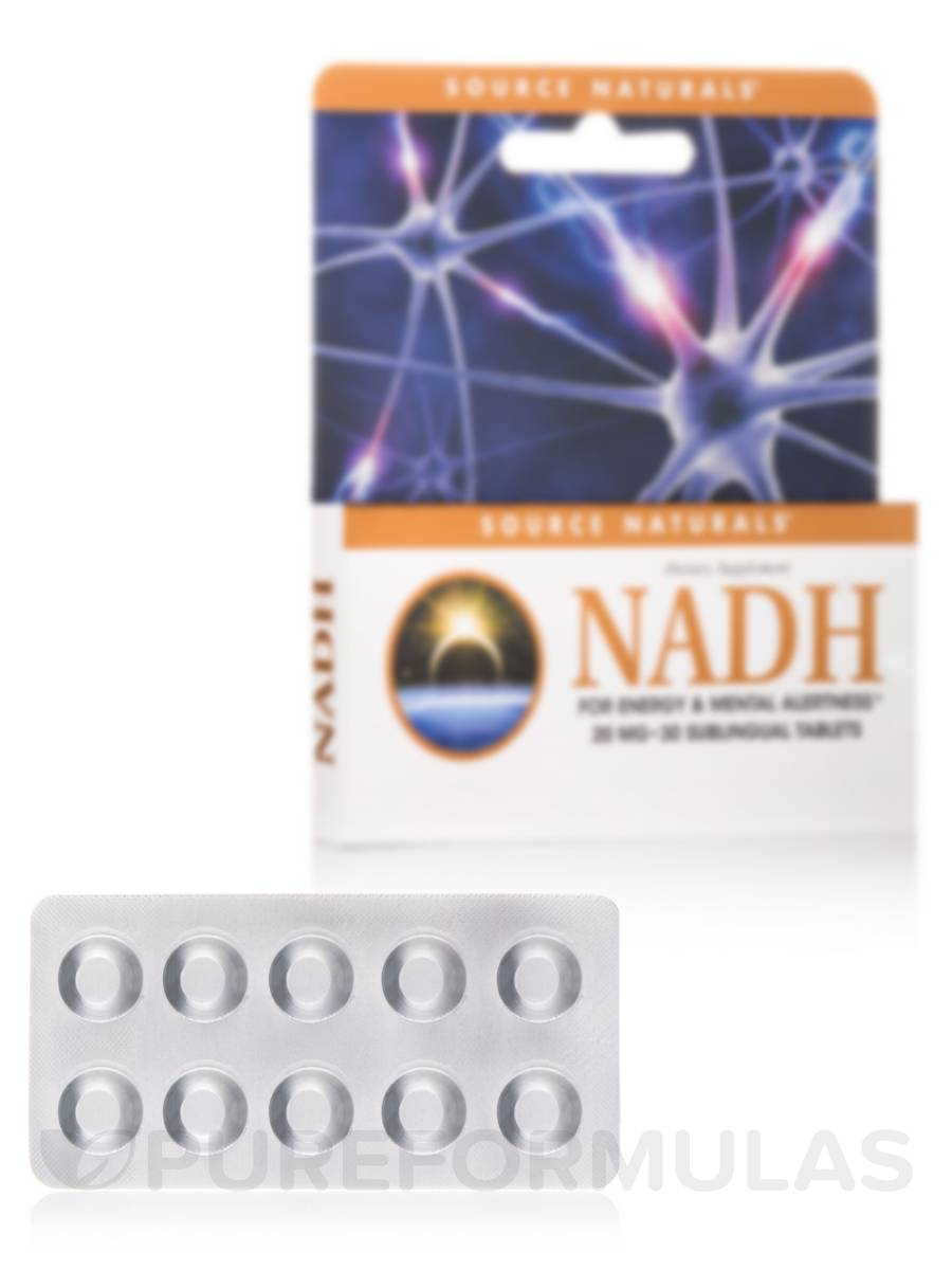 NADH (Sublingual) 20 mg - 30 Tablets