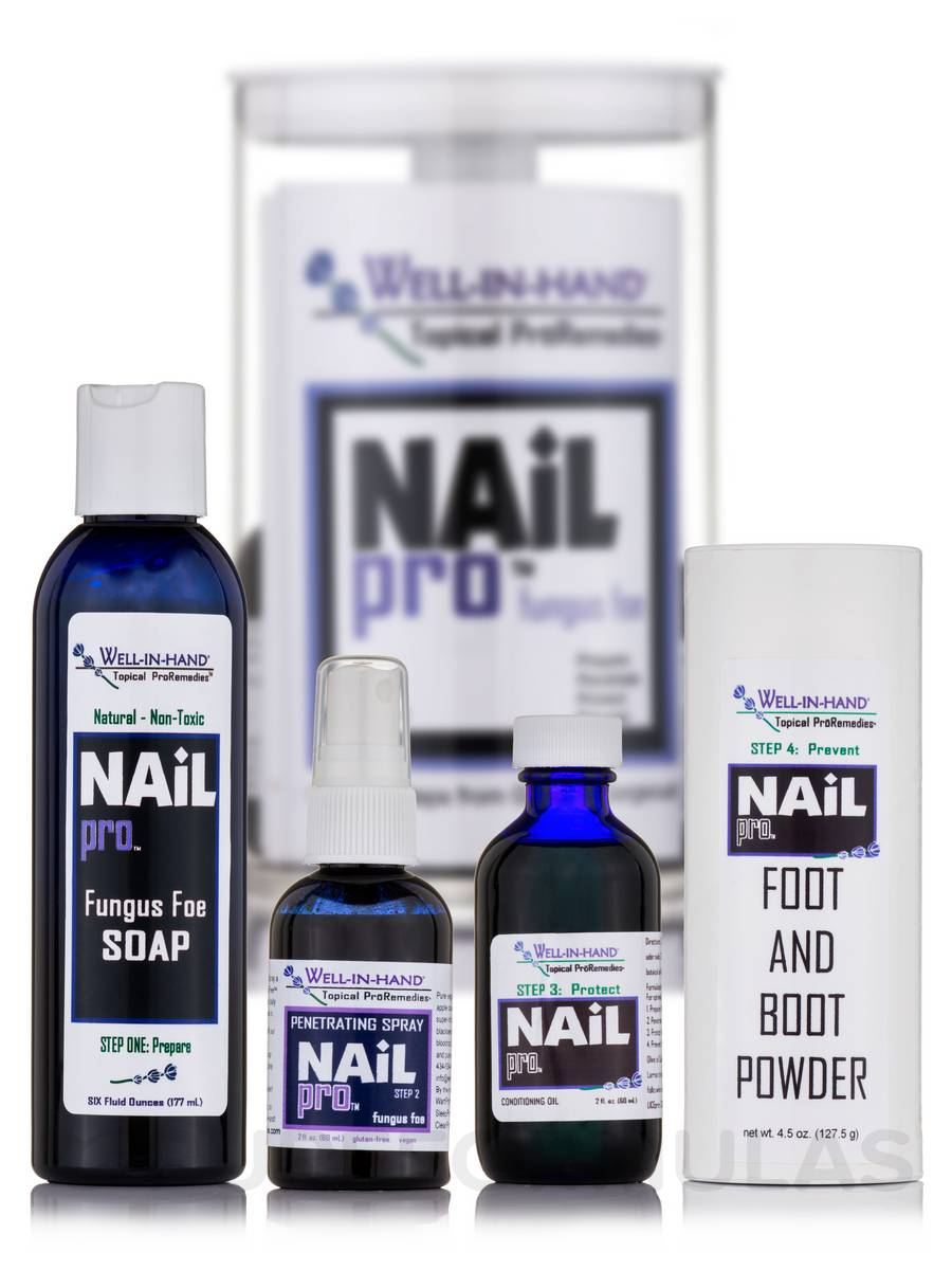 Nail Pro Kit (Includes Steps 1-4) - 1 Kit