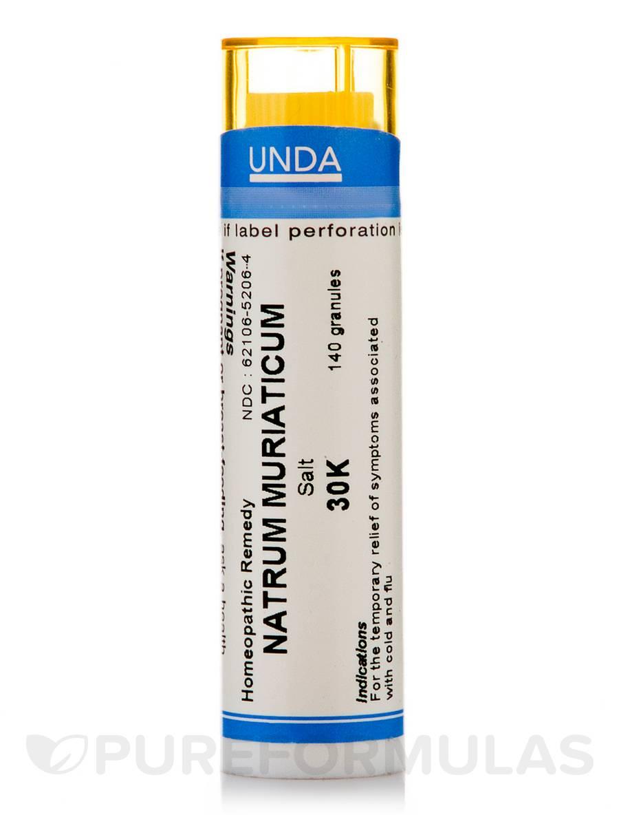 Natrum Muriaticum 30K - 140 Granules (5.5g)