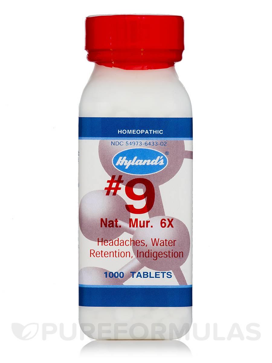 Natrum Muriaticum 6X - 1000 Tablets