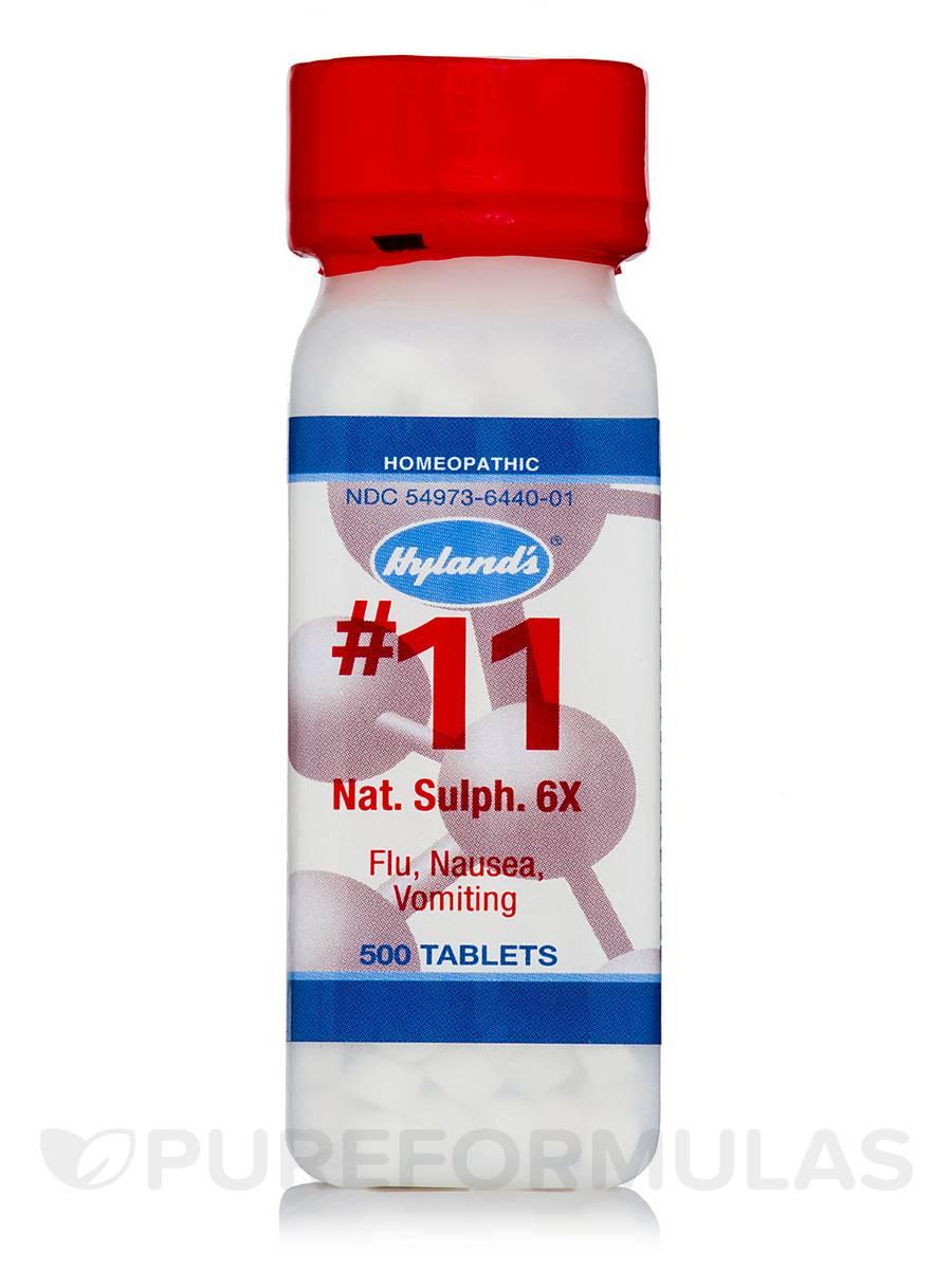 Natrum Sulphuricum 6X - 500 Tablets