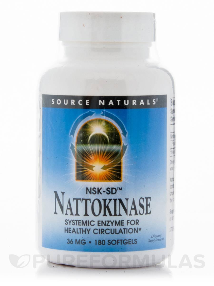 Nattokinase 36 mg - 180 Softgels