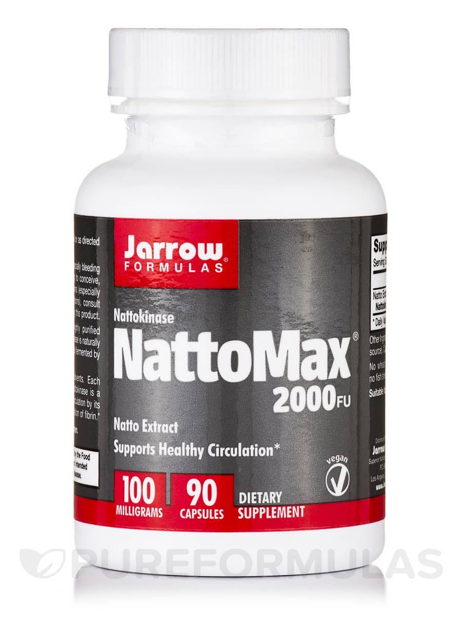 NattoMax 2000 FU 100 mg - 90 Capsules