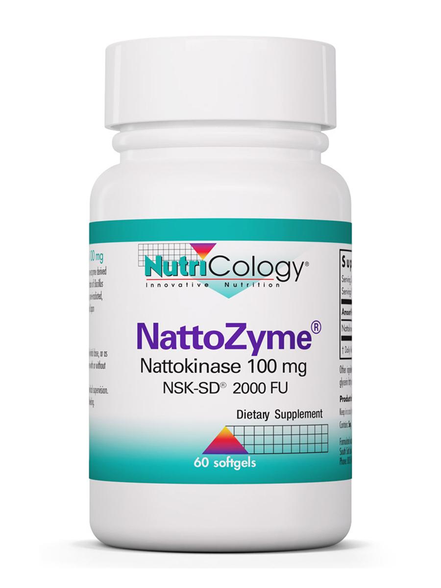 NattoZyme 100 mg - 60 Softgels