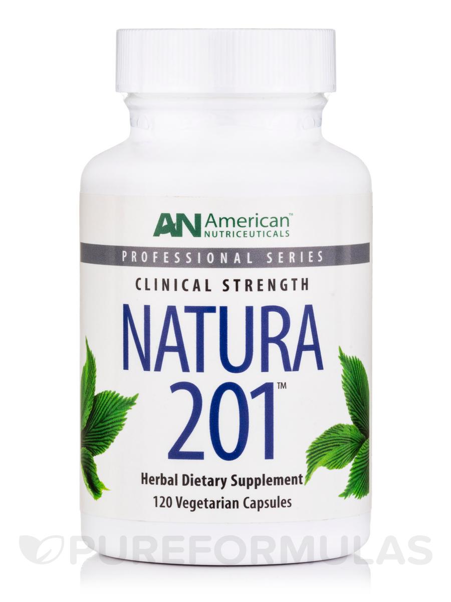 Natura 201-Digestive 250 mg - 120 Vegetarian Capsules