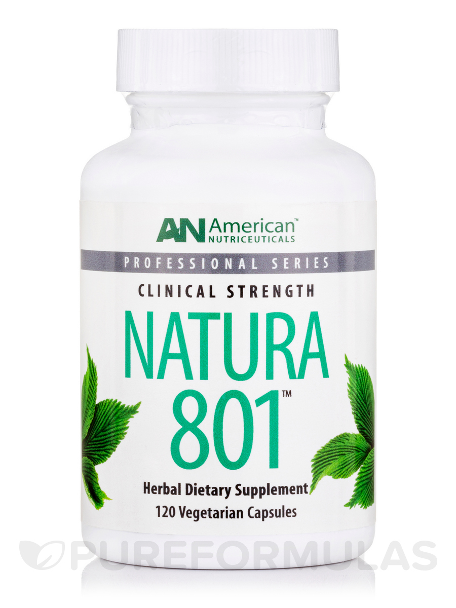 Natura 801-Nervous System - 120 Vegetarian Capsules