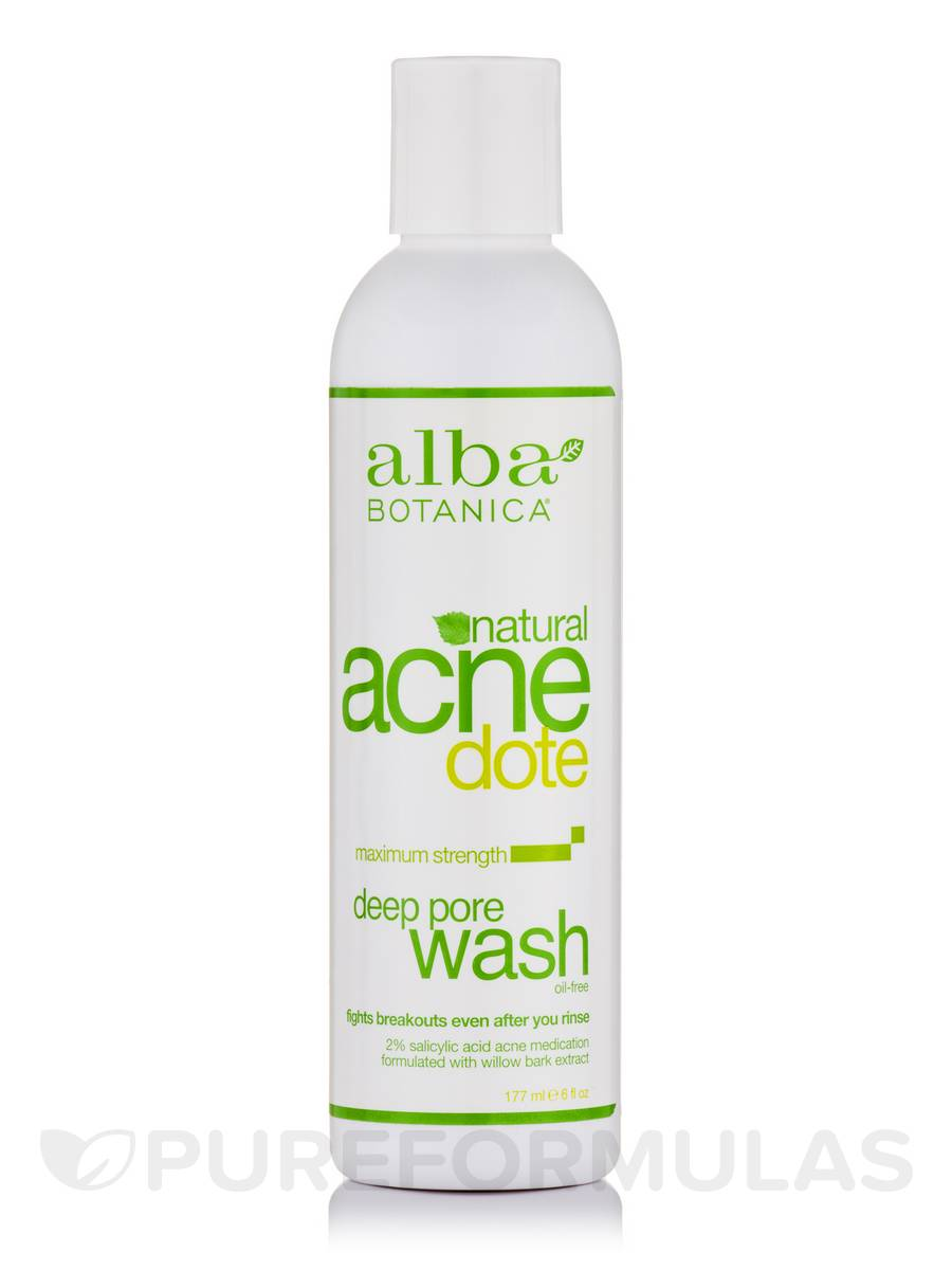 Natural AcneDote Deep Pore Wash - 6 fl. oz (177 ml)