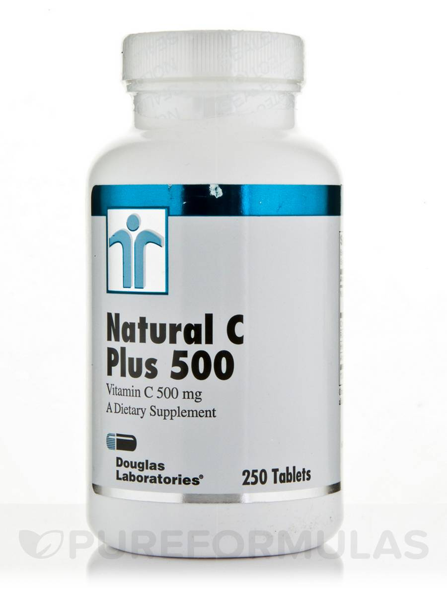 Natural C Plus 500 - 250 Tablets