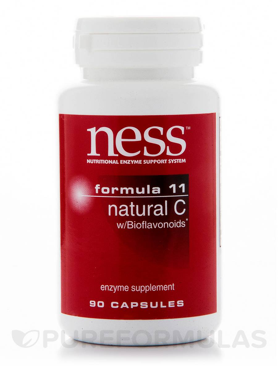 Natural C with Bioflavonoids (Formula 11) - 90 Capsules