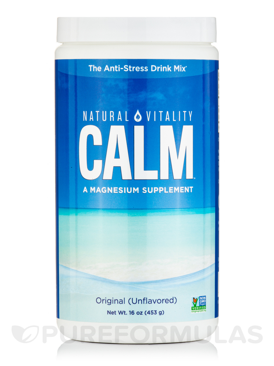 Natural Calm®, Original (Unflavored) - 16 oz (453 Grams)