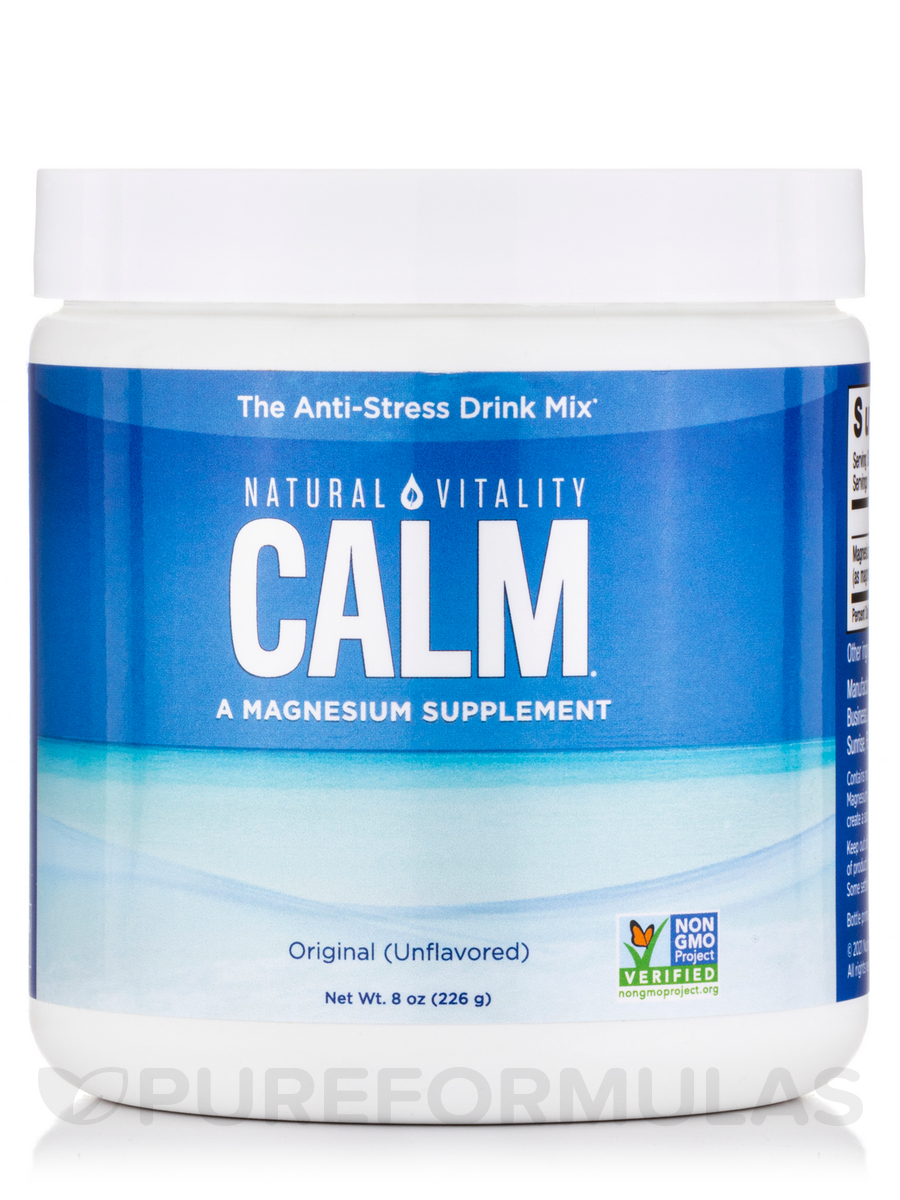 Natural Calm®, Original (Unflavored) - 8 oz (226 Grams)
